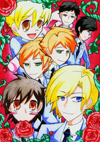 Ouran High School Host Club by skyna