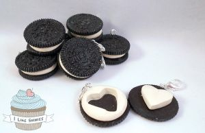 ON SALE: Chocolate scented Oreo bff charms by ilikeshiniesfakery