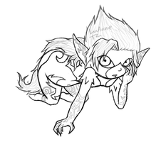 Sketch Imp Midnight by Luifex