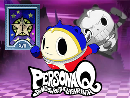 Persona Q: Teddie Fan-made Wallpaper by AkiyamaFC