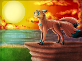 On Top of the World (Gift Art) by Skytalon16