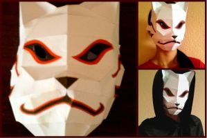 So I Herd You Like ANBU Masks by EmeraldJoker