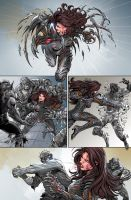 Witchblade #185 page 5 by panelgutter