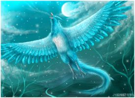 Articuno by Hobsyllwin18