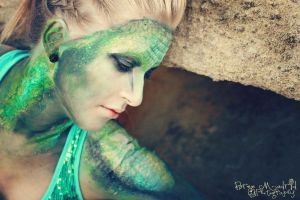 The Reptile Girl - 2 by KyleeGreider