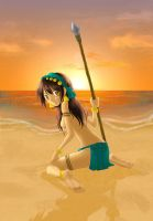 Sunset - APH Philippines by red-jello04