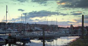 Whitby Harbour view by Sceptre63