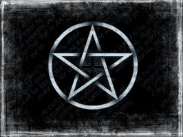 Grunge Pentagram by Sintilation