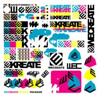 wecreategraphicpackage by newblood