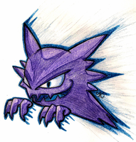Haunter (Resubmitted) by DraconicSymphony