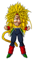 Bardock SSJ 6 by ansemporo002