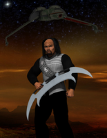 Klingon Warrior by DRWolfe