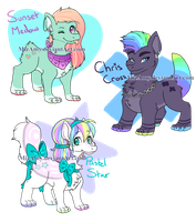 Dragondog Adopts - 1 left by MizAmy