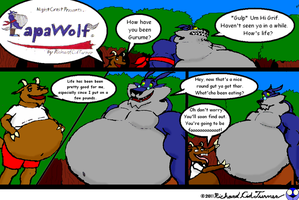 Papawolf comic 43 by NightCrestComics