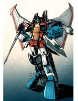 MP Starscream Commission by dcjosh