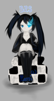 Black Rock Shooter by aremichan