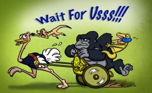 Wait For Usss!!! by paulcarlisle