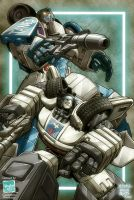 Transformers: Jazz and Mirage by diablo2003