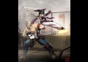 SFxT The Wicked Replicant and The Dark Spider by SandikaRakhim