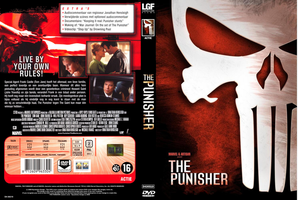 The Punisher DVD Cover by RyuuketsuEG
