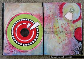 Art Journal 22 by San-T