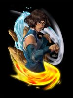 Korra Book 4 - Master of Elements by Artipelago