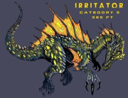 Kaiju - Irritator by WretchedSpawn2012