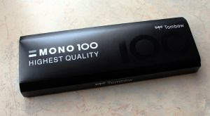Tombow Mono 100 pencils review by Icecoldart