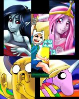 Adventure Time - print preview by Radiant-Grey