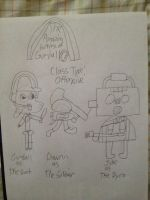 The Amazing Fortress of Gumball cast part 1 by 0640carlos