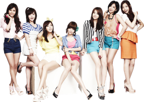T-ARA PNG Render by classicluv