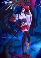 Contest: Tengu's Night by kuroi-onee