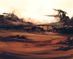 Desert City by PyriteKite