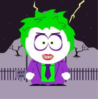 THE JOKER IN SOUTH PARK REQUEST. by MAGANNEAL