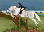 Sky Miles - Hunter Derby by cobra-farms