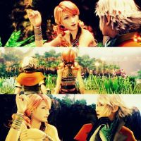 Final fantasy Oerba Dia Vanille And Hope Estheim by xDreamingFantasYx
