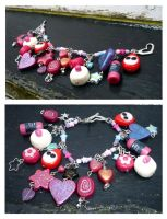 Lush Christmas Bracelet 2009 by CountessCocoFang