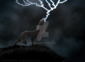 creature of the storm - 2012 by Quomlon