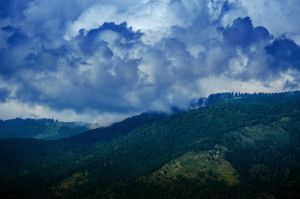 sky in mountains 2 by AlenaKrause