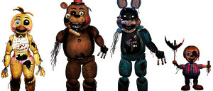 Five Nights at Freddy's [Withered Toys] by Christian2099