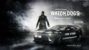 The Crew and Watch Dogs Wallpaper by hakeryk2