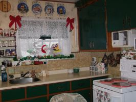 Kitchen Christmas decorations by venicet