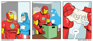 The Avengers Strategy by ierdna