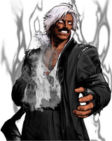 Dark God Rugal KOF Mugen by OrochiDarkKyo
