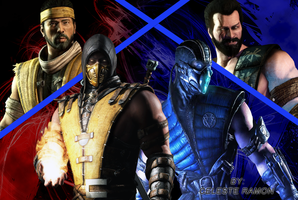 Mortal Kombat: Fire and Ice by celtakerthebest