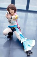 Yuna [ Gunner Ver. ] from FFX-2 - 12 by YumiCosplay