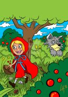 Little Red Riding Hood by pichulin