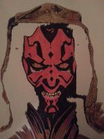 Darth Maul. by ladyjart