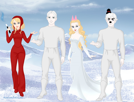 Wendy,Casper,Spooky and Poil. by Smurfette123