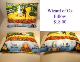Wizard of Oz Pillow by The2SistersShoppe